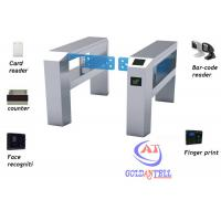 Buy cheap Supermaret Swing Barrier Gate with counter / automatic swing gate for Charge Management from wholesalers