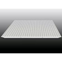 Buy cheap Disassemble perforated aluminum ceiling tiles With Black Tissue Sound Proof text from wholesalers