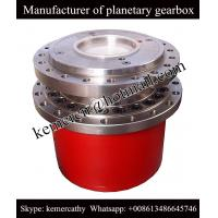Buy cheap high quality rexroth GFT110T3 planetary gearbox for track drive application from wholesalers
