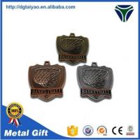 Buy cheap high quality gold silver bronze custom medals for sport from wholesalers
