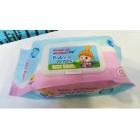 Buy cheap Hand Mouth Cleaning Wipe Family Use Cotton Material Super Soft Wet Wipes from wholesalers
