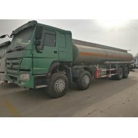 Buy cheap Four Axles Fuel Tanker Truck SINOTRUK HOWO 30 - 40 Tons For Oil Transportation from wholesalers
