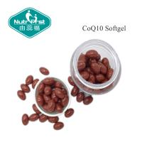 Buy cheap Red Color CoQ10 softgel with 30mg/60mg/100mg for Heart Health Food/Contract Manufacturing from wholesalers