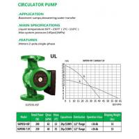 Buy cheap CIRCULATOR PUMP SGPD50-4SF SGPD50-7.5F from wholesalers