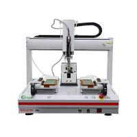 Buy cheap Double Station Automatic Screw Locking Machine GR-LS-5331 Desktop Adsorption Type from wholesalers