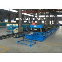 Buy cheap Automatic Punch Steel Cable Tray Roll Forming Machine Photovoltaic Stents from wholesalers