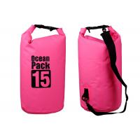 Snorkeling 15 Liter Dry Storage Bags Rolling Top Closure Multi Color Optional