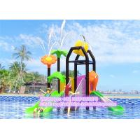 Buy cheap Kids Safe Water Playground House Equipment With LLDPE Engineering Plastic / Steel Pipe Mateiral from wholesalers