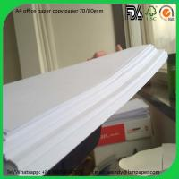 Buy cheap 102%-104% Brightness Printing Copier Paper A4 size/in jumbo roll product