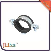 Wall Mount Cast Iron Pipe Clamps One Side Open One Side Closed 4 Point Welding