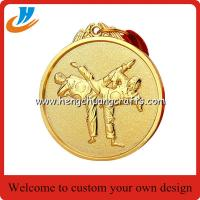 Buy cheap Taekwondo metal medals, custom made metal engraved Taekwon-do medals factory from wholesalers