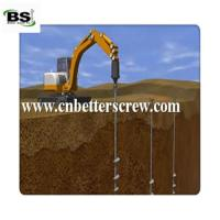 Buy cheap construction material screw anchor or helical pile for foreign market from wholesalers