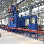 Buy cheap Efficient Steel Plate Shot Blasting Machine Roller Conveyor Type High Performance from wholesalers