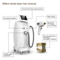 Buy cheap Cutting edge beauty equipment 808nm diode laser permanent hair removal from wholesalers