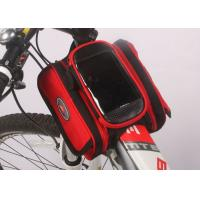 Buy cheap Water Resistant Bicycle Top Tube Bag , Small Top Tube Phone Bag 12*10*5CM product