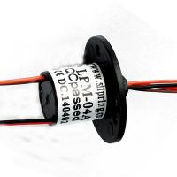 Buy cheap 4 Pole Miniature Capsule Slip Ring High Rotary Precision For LED Lighting Equipments from wholesalers