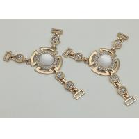 Buy cheap Zinc Alloy Boot Jewelry Chains , T Type Chain Boot Straps With Rhinestone from wholesalers