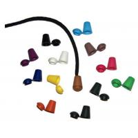 Buy cheap HUGE SALE - 100 Pack Mixed Colors - Cord End Tips - Plastic End Caps with 4.5mm Diameter Hole Great for 550 Paracord and from wholesalers