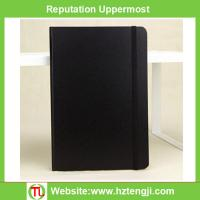 China Customized A6 hard cover blank PU Journal Book paper notebook travel notebook on sale