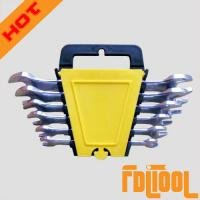 Buy cheap 6PC Double Open End Wrench Plastic Rack from wholesalers