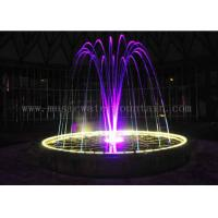 Buy cheap Multi Color Change Jumping Jet Fountain Indoor Water Features For Home Decor from wholesalers
