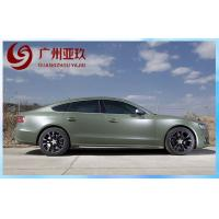 Buy cheap Derek Army Green Matte Vinyl Wrap With Air Free Bubbles For Cars Protection from wholesalers