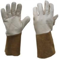 Buy cheap Cow Split Leather Out Stitched Cluted Back Welding Glove ZM 59-J from wholesalers
