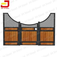 Buy cheap OEM ODM Modular Horse Stall Kits , Equine Stall Fronts Bamboo / Pine Wood from wholesalers