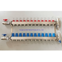 Buy cheap Radiant Heat Manifolds, 12 Loop PEX Manifolds for Hydronic Radiant Heating Systems from wholesalers