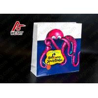 Buy cheap Food Carrier Retro Retail Paper Bags , Custom Printed Paper Lunch Bags from wholesalers