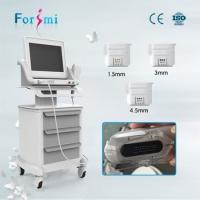Buy cheap CE Approved Forimi Anti aging portable hifu machine face lift and wrinkle removal from wholesalers