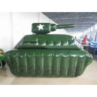 Buy cheap 0.6mm / 0.9mm PVC Tarpaulin Fabric Inflatable Paintball Bunker from wholesalers