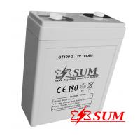 Buy cheap 2V 100Ah deep cycle battery for solar system from wholesalers