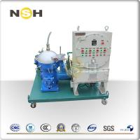 Buy cheap Solids Centrifugal Oil Filter Machine 380V/3P/50Hz With PLC Automatic Control from wholesalers