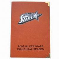 Buy cheap Leather Notebook/Portfolio, Covered in Authentic Spalding Basketball Material from wholesalers