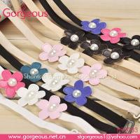Buy cheap New style flower beaded bra straps from wholesalers
