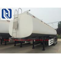 Buy cheap Q345 Material Oil Fuel Tank Trailer 40000L - 60000L Capacity Cimc Sinotruk from wholesalers