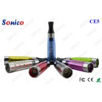 Buy cheap 1.6ml 510 Ego CE5 Clearomizer Atomizer Liquid Tank System 3V from wholesalers