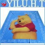 Buy cheap personalized kids lovely baby bear polar fleece blanket pattern from wholesalers