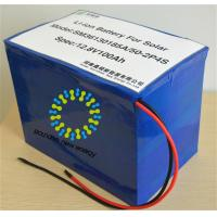 Buy cheap Safety LiFePo4 12V 100Ah Solar Energy Storage Batteries For Emergency Power Supply from wholesalers
