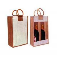 Buy cheap good design wine bag from wholesalers