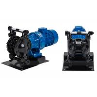 Buy cheap Cast Steel Electric Diaphragm Pumps Double Diaphragm For Waste Water Transfer DN40 from wholesalers