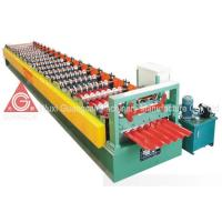 Buy cheap Thickness 0.4 - 0.8mm Metal Roof Roll Forming Machine About 12 - 18m Per Min from wholesalers