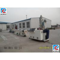 Buy cheap Electric Wire PVC Pipe Extrusion Machine Double Screw PLC Control from wholesalers
