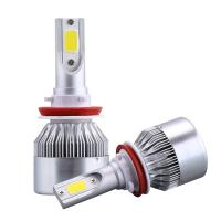 Buy cheap 7600 Lm Lumen C6 Led Headlight , Universal H4 Car Accessories Led Lights from wholesalers