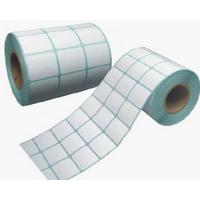 Buy cheap Printing paper label/self adhesive stickers/rotary printed adhesive label papers from wholesalers