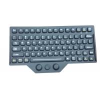 Buy cheap Customs silicone rubber keyboard layout accessory with laser etching and carbon from wholesalers