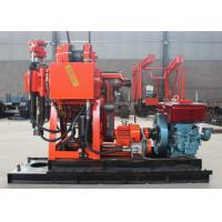 Buy cheap Easy Operate Portable Core Drill Rig 100m - 200m Drilling Depth ISO 9001 Approved from wholesalers
