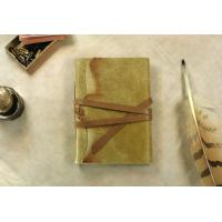 Buy cheap Yellow Leather Journal, Vintage Style Journal, Notebook, Diary from wholesalers