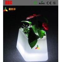 Buy cheap Fashion RGB Glow In The Dark Flower Pots Parties Decoration For Home / Club from wholesalers